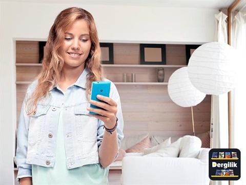 Dergilik 100 Samsung Telefon Hediye