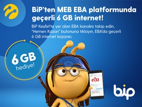 EBA 3 GB Hediye İnternet Kampanyası