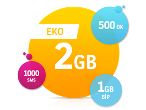 Eko 2 GB Paketi