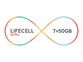 Lifecell Extra 7GB