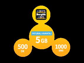 Faturalı Avantaj 5GB Yıllık Abonelik Kampanyası