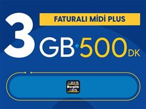 Faturalı Midi Plus Yıllık Abonelik Kampanyası