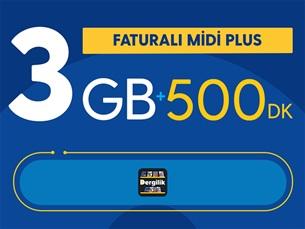 Satın Al Faturalı Midi Plus Yıllık Abonelik Kampanyası