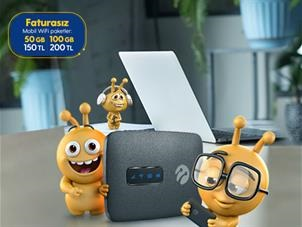 Faturasız Mobil Wifi Fırsat Paketleri