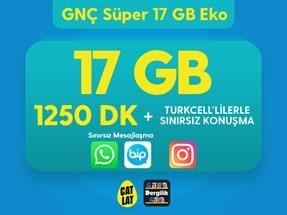 GNÇ Süper 17 GB Eko Kampanyası