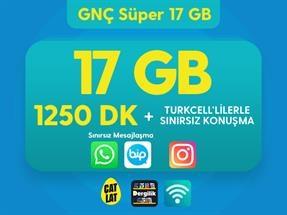GNÇ Süper 17 GB Kampanyası