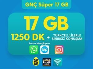 Satın Al GNÇ Süper 17 GB Kampanyası