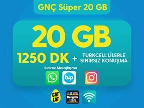 GNÇ Süper 20 GB Kampanyası