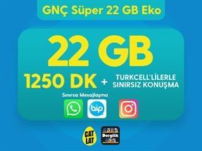 GNÇ Süper 22 GB Eko Kampanyası