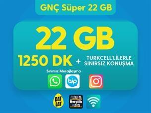 Satın Al GNÇ Süper 22 GB Kampanyası