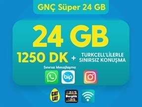 GNÇ Süper 24 GB Kampanyası