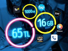 GNÇ 16 GB
