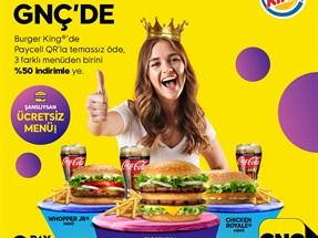 GNÇ - Burger King® Kral İndirim Kampanyası