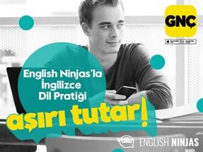 GNÇ English Ninjas Kampanyası