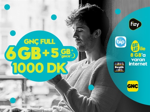 GNÇ Full 11GB Kampanyası
