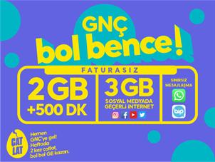 GNÇ Hoş Geldin 2GB