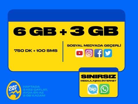 GNÇ Hoş Geldin Fırsat 9GB