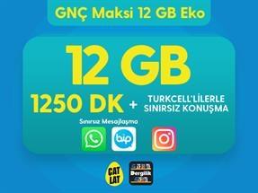 GNÇ Maksi 12 GB Eko Kampanyası