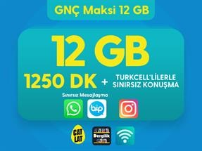 GNÇ Maksi 12 GB Kampanyası
