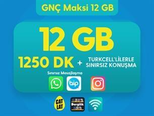 Satın Al GNÇ Maksi 12 GB Kampanyası