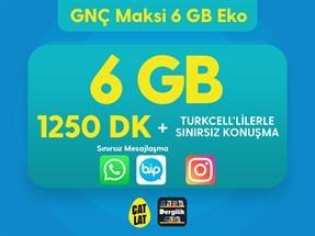 GNÇ Maksi 6 GB Eko Kampanyası