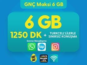 GNÇ Maksi 6 GB Kampanyası
