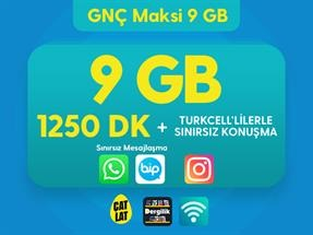 GNÇ Maksi 9 GB Kampanyası