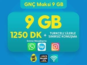 Satın Al GNÇ Maksi 9 GB Kampanyası
