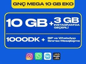 GNÇ Mega 10 GB Eko Paketi