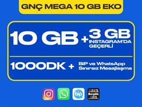 GNÇ Mega 10 GB Eko Kampanyası