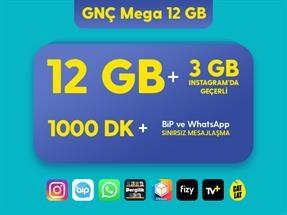 GNÇ Mega 12 GB Eko Kampanyası