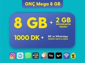 GNÇ Mega 8 GB Kampanyası