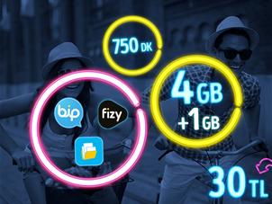 GNÇ Full 4 GB Kampanyası