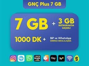GNÇ Plus 7 GB Kampanyası