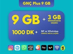 GNÇ Plus 9 GB Kampanyası