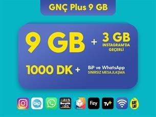 Satın Al GNÇ Plus 9 GB Kampanyası