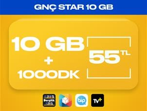 GNÇ Star 10GB