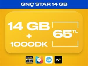 GNÇ Star 14GB