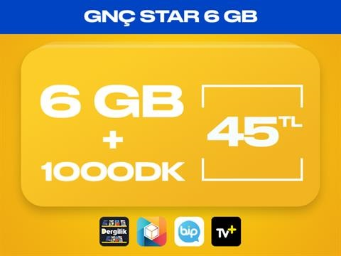 GNÇ Star 6GB