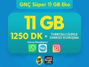 GNÇ Süper 11 GB Eko Kampanyası