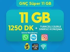 GNÇ Süper 11 GB Kampanyası