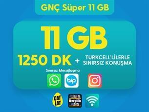 Satın Al GNÇ Süper 11 GB Kampanyası
