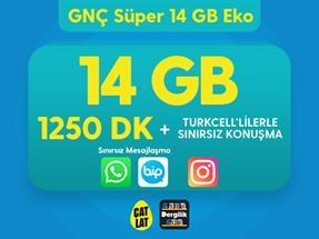 GNÇ Süper 14 GB Eko Kampanyası