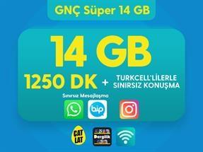 GNÇ Süper 14 GB Kampanyası