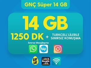 Satın Al GNÇ Süper 14 GB Kampanyası