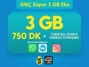 GNÇ Süper 3 GB Eko Kampanyası