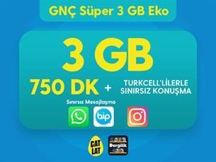 Satın Al GNÇ Süper 3 GB Eko Kampanyası
