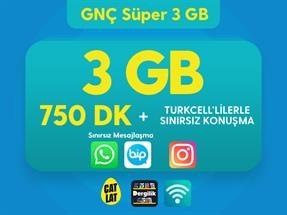 GNÇ Süper 3 GB Kampanyası