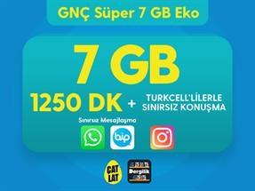 GNÇ Süper 7 GB Eko Kampanyası