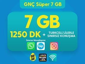 GNÇ Süper 7 GB Kampanyası